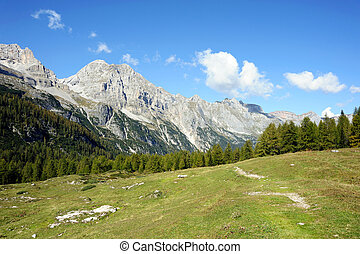 Mountains - An image of a beautiful valley in the mountains