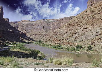 Mountains and Canyons, U.S.A. - Mountains and Canyons of...