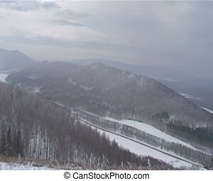 Mountains and forests of South Ural - Nature of the South...