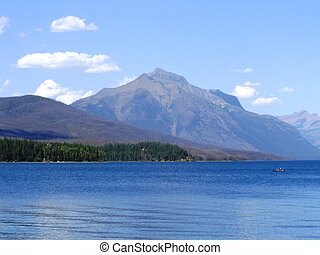 Mountains and water