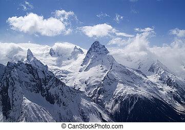 Mountains. Caucasus. Dombai.