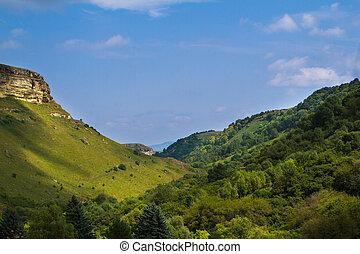 Mountains, grön