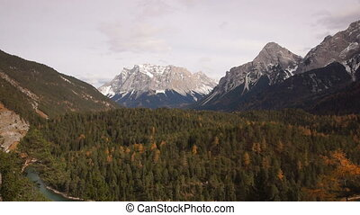 Mountains in Austrian Alps