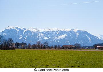 Mountains in Berchtesgadener Land