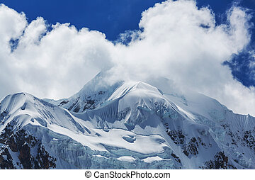 Mountains in Bolivia - High mountains in Bolivia