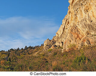 mountains in Crimea