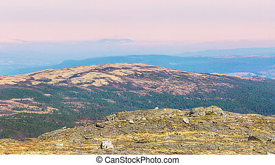 Mountains in Innerdalen, Norway