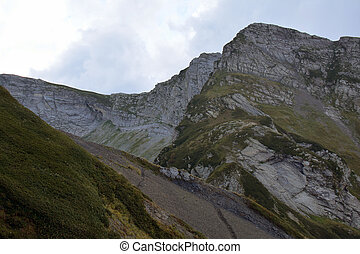Mountains in Krasnaia Poliana, Sochi