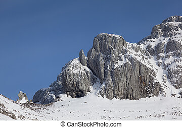 Mountains in Lunada, Burgos, Castilla y Leon, Spain