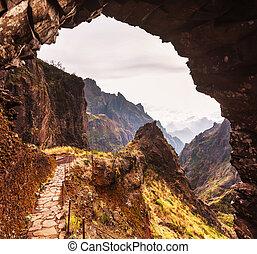 Mountains in Madeira - Pico Ruivo and Pico do Areeiro ...