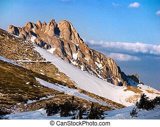 Mountains in springtime, Romania