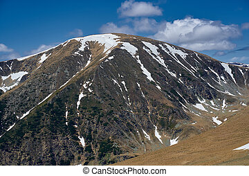 Mountains in the early summer - Landscape with mountains in ...