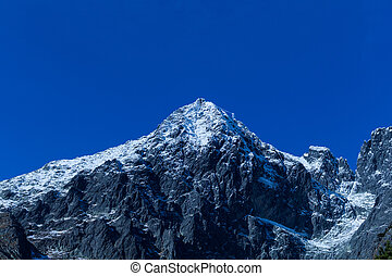 Mountains in the High Tatras