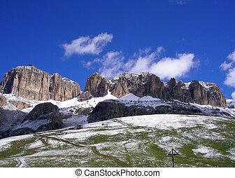 Mountains in Val Gardena