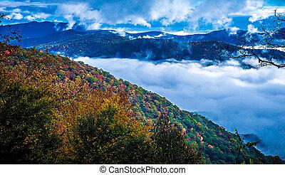 Mountains, ivrig, Parkera, rökig, medborgare