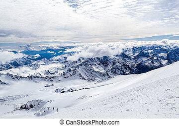 Mountains landscape, Caucasus - Mountain landscape in autumn...