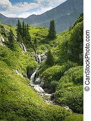 Mountains landscape