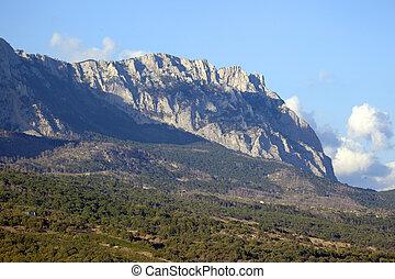Mountains of Crimea.