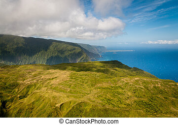 Mountains of Molokai