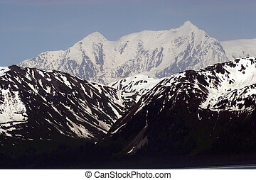 Mountains on mountain
