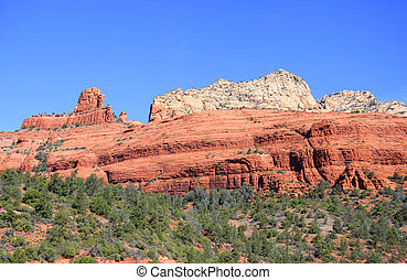 Mountains, röd, vagga
