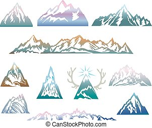 Mountains set