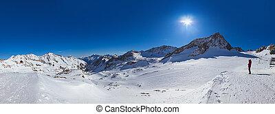 Mountains ski resort - Innsbruck Austria