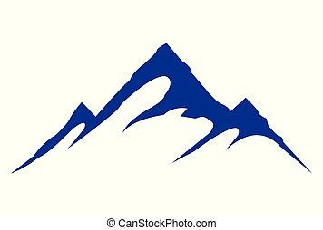 mountains vector dsign logo