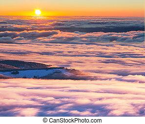 Mountains, Vinter
