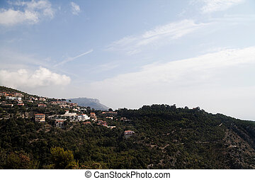 Mountainside - A wonderful mountainside view of Monaco