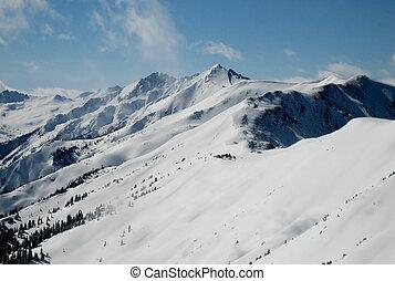 mountainside ridge