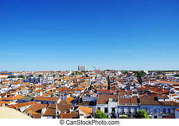 Moura, city in south of Portugal