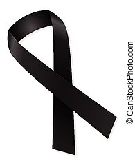 mourning ribbon
