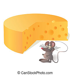 Mouse and big cheese