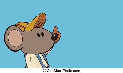 mouse builder index character animation  illustration design