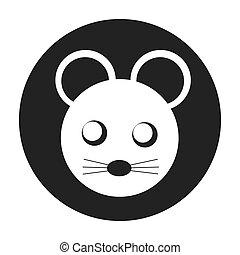 mouse cute animal character farm