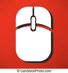 mouse elaboratore, icona