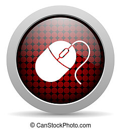 mouse glossy icon
