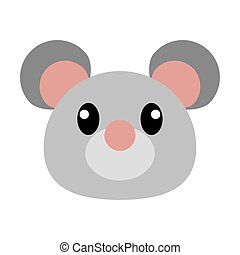 Mouse head cartoon