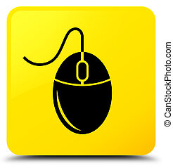 Mouse icon yellow square button