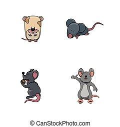 mouse illustration design