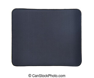 Mouse pad isolated on white