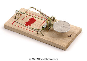 Mousetrap-Canadian Coin