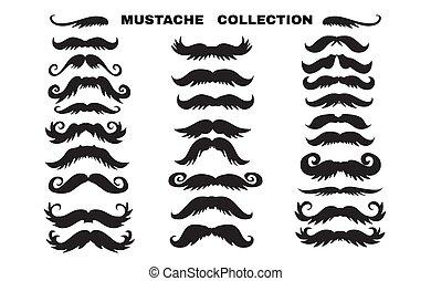 moustache, 2, collection