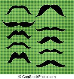 moustache, ensemble