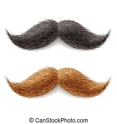 moustaches, faux