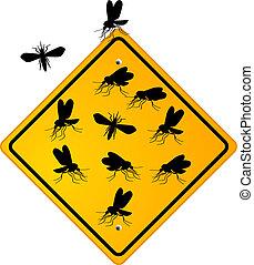 moustique, moucheron