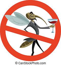 moustique, non