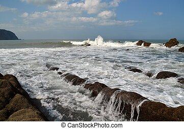 Mouth Mill Beach Devon UK