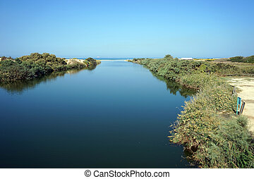 Mouth of river